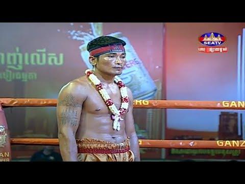 Prum Somnang vs Phetch Bopha(thai), Khmer Boxing Seatv 17 March 2018, Kun Khmer vs Muay Thai