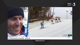 JO 2018 - Ski de fond Relais 4x10km hommes / Maurice Magnificat :