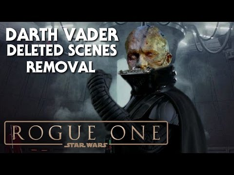 Rogue One A Star Wars Story Darth Vader Deleted Scenes Not Coming