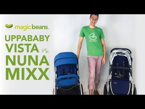 Uppababy Vista Vs Nuna Mixx Best Most Popular Strollers