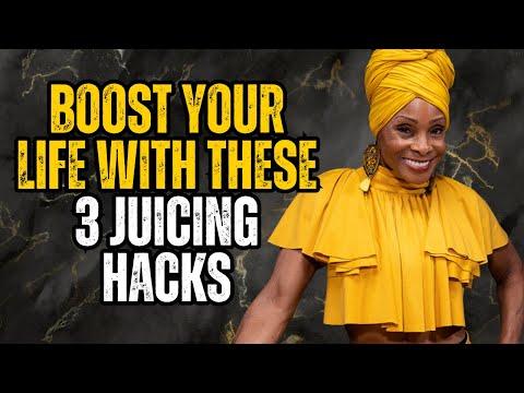 Juice Guru TV  Episode 001 Why Juicing? featuring Celebrity Chef Babette Davis