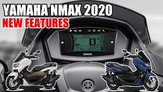 ALL NEW YAMAHA NMAX 155 2020 SPECS & NEW FEATURES