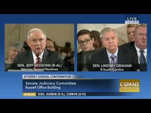 Sen. Graham and AG Nominee Jeff Sessions Contradict Themselves on States