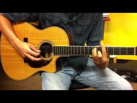 Guitar Lesson E Bar Chord and Reggae Strum