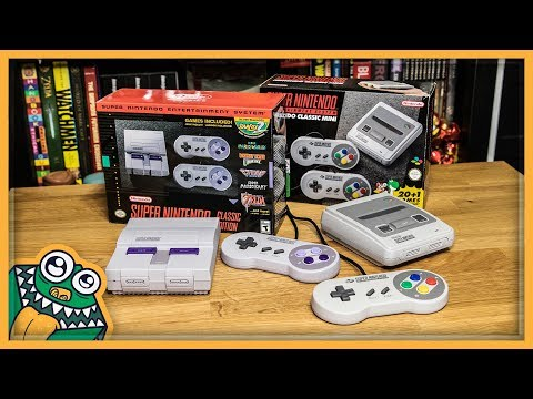 SNES Classic Edition - US And EU Versions - Unboxing And Overview