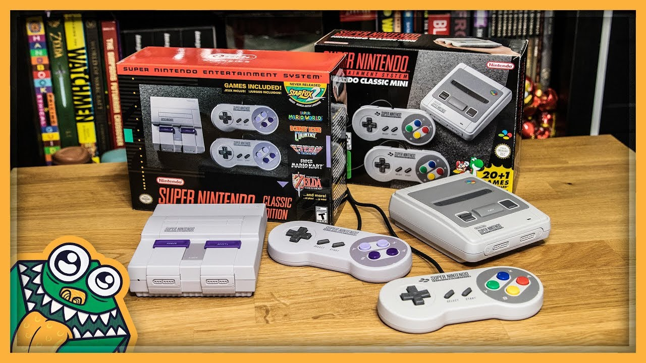 Snes Classic Edition Us And Eu Versions Unboxing And Overview