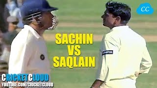 Download SACHIN vs SAQLAIN - Watch the Best Shots of Tendulkar & Magical Delivery by Mushtaq !! Mp3 and Videos