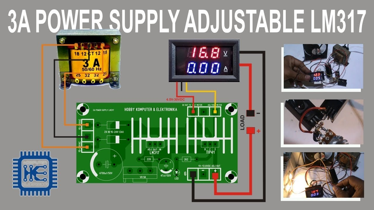 how to create power supply