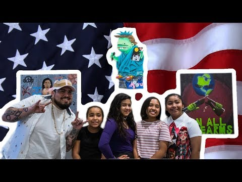 IF I WERE PRESIDENT - Student Art Show - LACER Afterschool Program at Ewkuks Gallery
