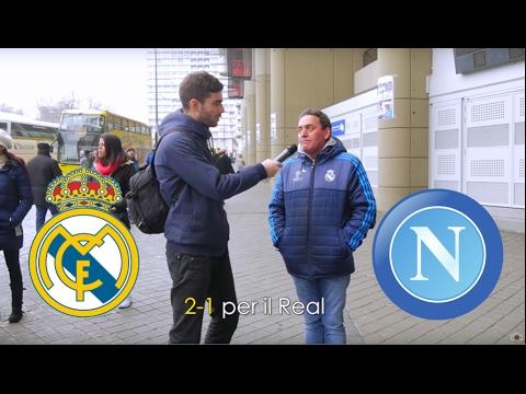 """""""Un pronostico su Real Madrid - Napoli?"""" Domande al Santiago Bernabeu - thepillow (Spagna)"""