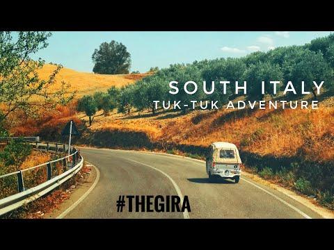 South Italy tuk-tuk adventure: travel documentary
