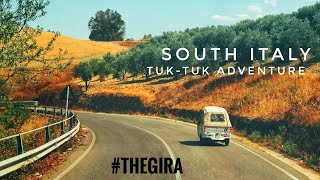 South Italy tuk-tuk adventure: travel documentary