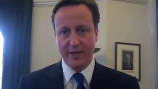 David Cameron, Leader of the Conservative Party UK supports the WRA