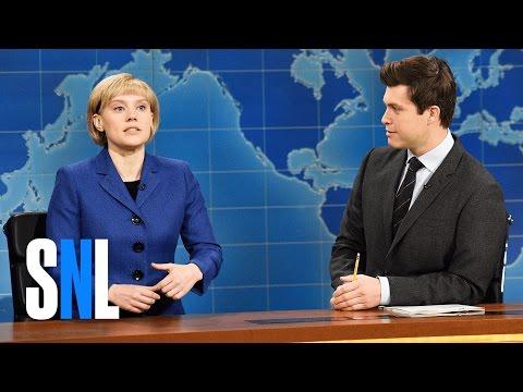 Weekend Update: Angela Merkel on Donald Trump - SNL