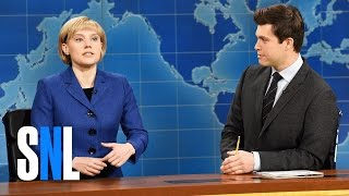 Weekend Update: Angela Merkel on Donald Trump - SNL