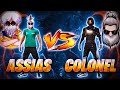 COLONEL VS ASSIAS FF | MI PRIMER PVP EN LA REGION DE TAILANDIA *ASSIAS MODO HACKER-LAGUEADO*