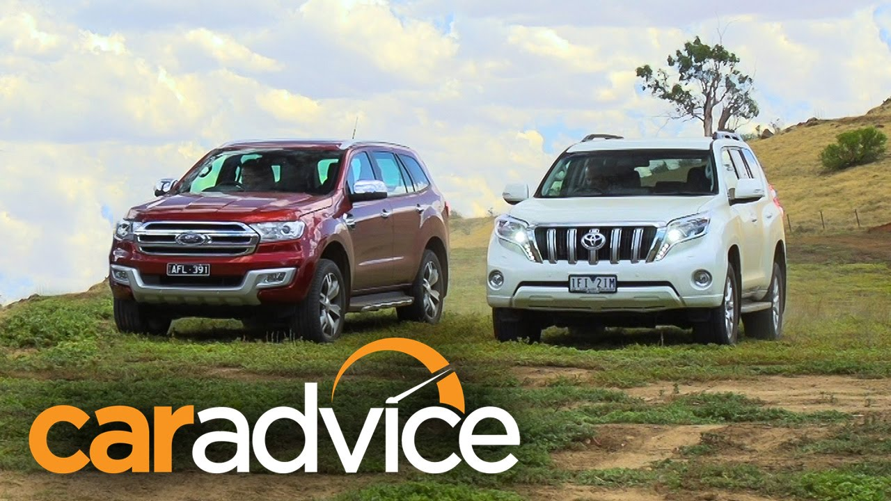 2020 Ford Everest/Endeavour Titanium v Toyota Prado VX off road ...