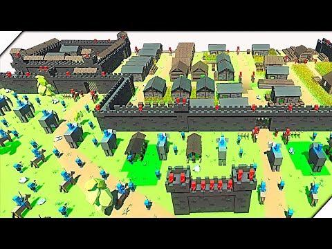 ШКОЛЬНИКИ ОТБИВАЮТ АТАКУ - Игра Ancient Warfare 3 # 4 Эпические битвы рыцарей