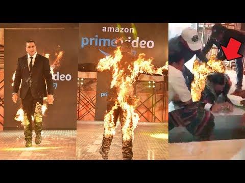 How Akshay Kumar Set Himself on F!RE & $urrvived Complete STUNT Video thumbnail