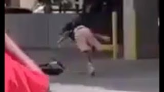 NLE Choppa Bites The Dust After Falling Off Scooter