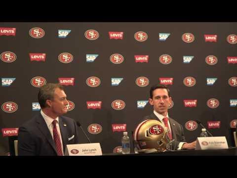 Kyle Shanahan, John Lynch address 49ers 2017 quarterback situation