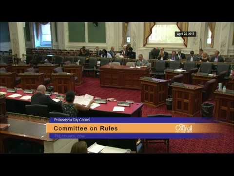 Committee on Rules 4-28-2017