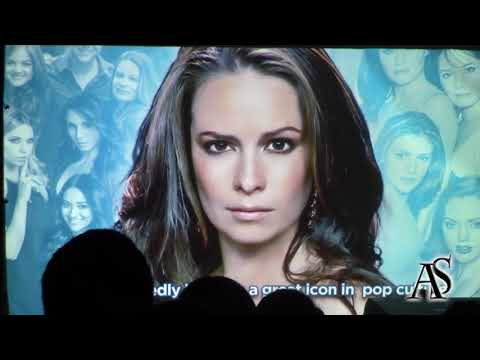 Holly Marie Combs  PanelQ&A at Palermo Comic Convention 2017 23092017