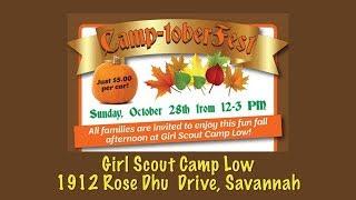 CamptoberFest 2018  Girl Scouts of Historic Georgia