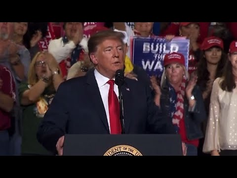 Trump lauds plan for border wall in Texas as opponents protest Mp3