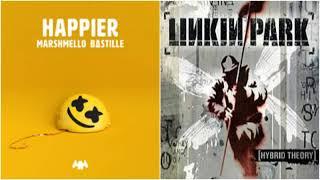 Happier In The End - Marshmello ft. Bastille vs Linkin Park (Mashup)