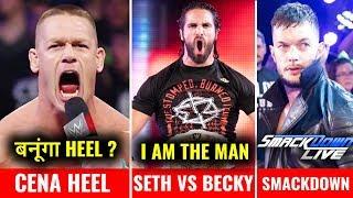 Seth VS Becky WINNER REVEALED ! Cena Heel Turn ! Finn Balor On Moving to Smackdown Live !