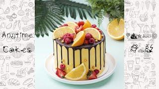Лучшие рецепты кексов   Удивительные идеи украшения фруктового торта на любой случай #shorts