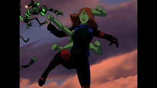 Miss Martian Young Justice Season 1 Shapeshifting