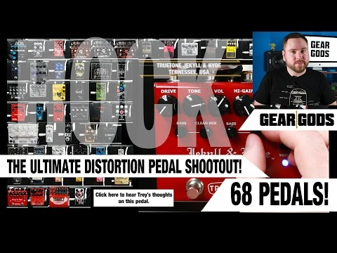 The Ultimate Rock Distortion Pedal Shootout | GEAR GODS