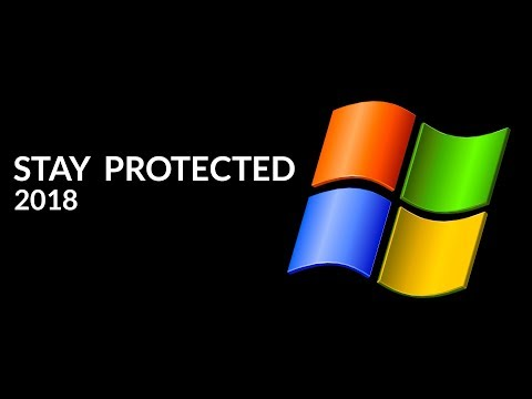🛡 How To Stay Protected In Windows XP (2018)