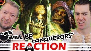 World of Warcraft : Warlords of Draenor Cinematic Trailer REACTION (WOW)