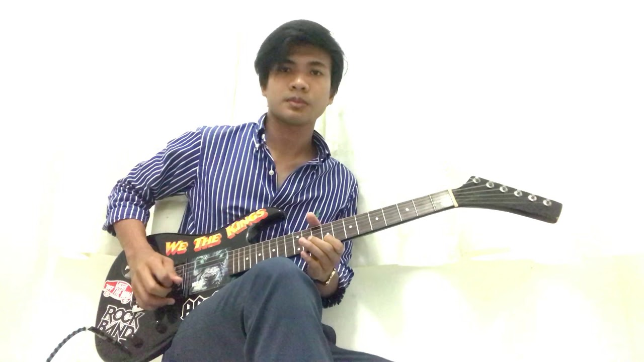 Masdo Dinda Unofficial Guitar Solo Cover Youtube