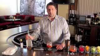 Remlik's Grille & Oyster Bar - Mixing An Old Fashioned