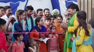 Ribbon Cutting in Punjabi Wedding