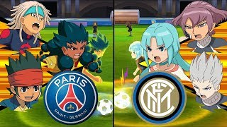 Inazuma Eleven UCL ~ Paris Saint-Germain vs Inter Milan ※Pokemon Anchor※
