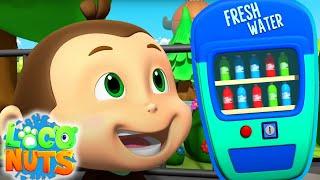 торговый автомат детские видео веселые Loco Nuts Russia мультфильмы для детей