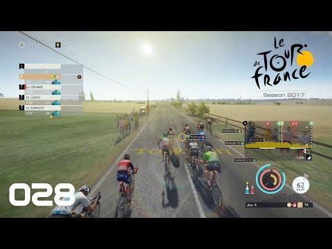 Tour de France 2017 [PS4] #028 - Vorsicht Wind - Let's Play