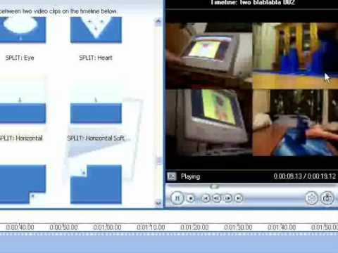 WMM side-by-side effect tutorial AND 4 videos tutorial