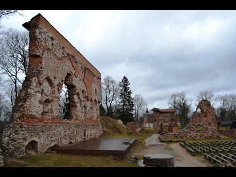 Ruins of the Viljandi Order Castle Estonia