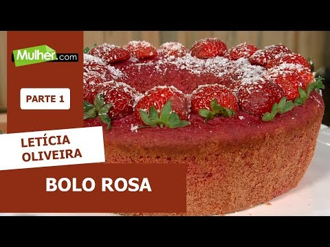 Bolo Rosa - Letícia Oliveira - 01/11/2019 P1