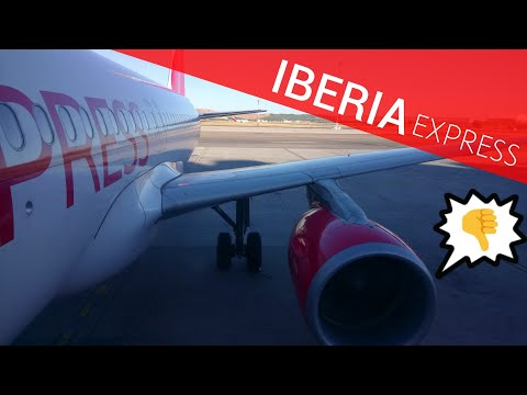 DISAPPOINTING IBERIA EXPRESS FLIGHT | Madrid - London Gatwick A320 Review