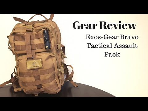Exos Bravo Tactical Assault Backpack Sponsored Review