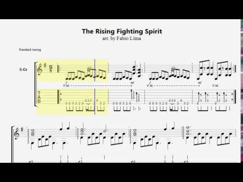 Fabio Lima - The Rising Fighting Spirit (Tab)