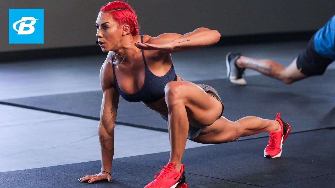 Hustle in Silence ft. Hannah Eden   Brute Strength Training