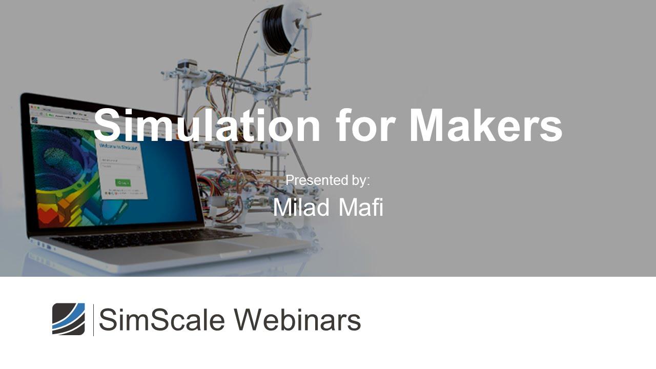Maker Workshop: Reducing Frame Vibrations using Modal Simulations